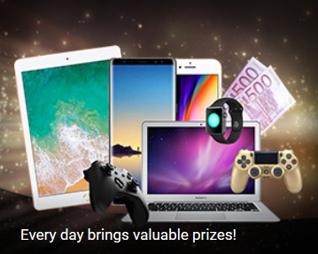 1xbet every day bring valuable prizes