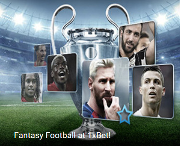 fantasy football 1xbet